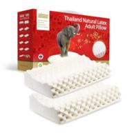 泰国原装,Taipatex 天然乳胶枕 一对装