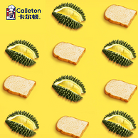 1斤装:卡尔顿 榴莲味夹心吐司面包
