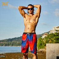 361° 男士 五分沙灘褲