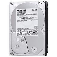 东芝 3TB 7200转 64M SATA3 台式机 机械硬盘