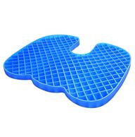 久坐不累 透气释压:创将 冰凝胶坐垫