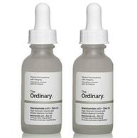 2瓶装!适合油皮,The Ordinary 10%烟酰胺+1%锌 美白精华 30ml