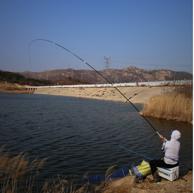 破坏强度2600g:光威 清月 201803231609 钓鱼竿 3.6米