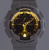 CASIO 卡西欧 G-shock GA-100B-7AER 男士双显运动手表