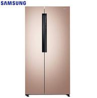 1日0点:SAMSUNG 三星 RS62MAJ00FE/SC 风冷变频 对开门冰箱 638L