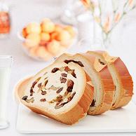 全牛奶不加水:750g 雪山果园 西域之恋 牛奶坚果列巴大面包
