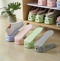 小编同款 可调节 节省50%空间 2个:莫耶 鞋架
