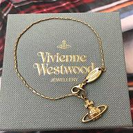 七夕送礼!Vivienne Westwood 西太后 SUZIE 土星玫瑰金手链