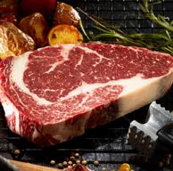 原切、微腌制:潮香村 薄鹽眼肉牛排 183gx10件