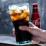 可口可乐正版授权,2只 Libbey 利比 无铅 玻璃杯495ml