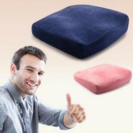 0压力、120D强支撑:美国 Ediber/艾蒂宝 温感记忆棉坐垫