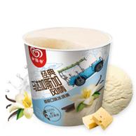 8件x275g 和路雪 经典马达加斯加风情 香草口味 冰淇淋