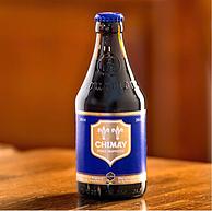 比利时进口,Chimay 智美 蓝帽精酿啤酒 330mlx6瓶+替牌拉格啤酒 330mlx6件