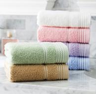 2件x6条 洁丽雅 97g 纯棉毛巾72x34cm