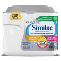 接近母乳:658g 美國 雅培/Similac 一段 PRO-ADVANCE嬰幼兒奶粉