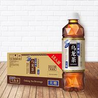 0糖0脂,三得利 无糖乌龙茶 饮料 500mlx18瓶