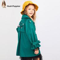 Hush Puppies 暇步士 19年新款 女童 薄款風衣外套