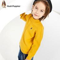 Hush Puppies 暇步士 19新款 儿童 半高领 针织衫