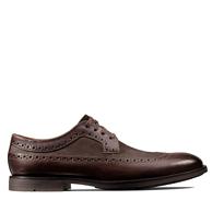 限尺码:Clarks 其乐 Ronnie Limit 男士 布洛克雕花 皮鞋 Prime会员285.92元(天猫1399元)