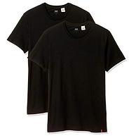 M碼、質感百搭,Levi's 李維斯 男士純棉短袖T恤 2件裝