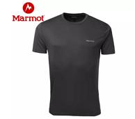 4.9分好评、排汗:Marmot 土拨鼠 男士速干短袖T恤 F54300