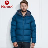 反季清倉,Marmot 土撥鼠 700蓬 男士 拒水鵝絨 羽絨服L73060