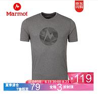 20點: Marmot 土撥鼠 男士速干T恤