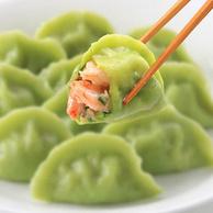 绿饺子、非人工养殖野生蛎虾:430gx3件 船歌鱼水饺 三鲜蛎虾水饺