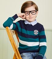4.9分 全棉无刺痒:水孩儿 男童针织衫 105~170码 多色