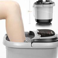 十组滚轮按摩:长虹 家用电动泡脚桶 足浴盆