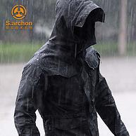 爆降16元 美國杜邦三防涂層:S.archon 男士戰術機能沖鋒衣