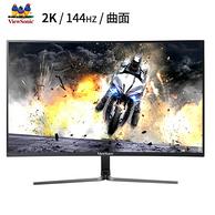ViewSonic 優派 27寸2K 144Hz VA曲面 電競顯示器VX2758-2KC-PRO
