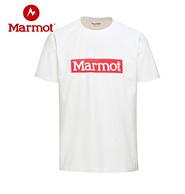 库存浅:Marmot 土拨鼠 男女短袖棉T恤