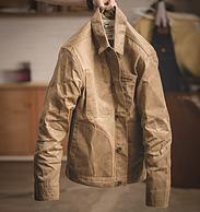 可站起來的外套:馬登 男美式重磅油蠟帆布夾克