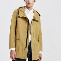 1.5折、100%純棉:美特斯邦威 ME&CITY 男士純棉工裝夾克外套
