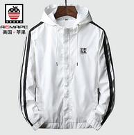 16點:AEMAPE/美國蘋果 男士短款夾克外套