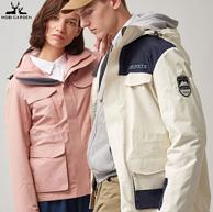 沖鋒衣國家標準制定單位,牧高笛 情侶款 三合一沖鋒衣