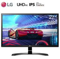 20點!多屏拆分、3840x2160、IPS:27英寸 LG硬屏液晶顯示器27UD58