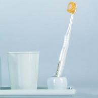 日本进口,双倍洁净:54孔x5支 EBISU/惠百施 宽头软毛成人牙刷