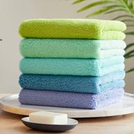 130g大克重,3件 大樸 長絨棉 毛巾 34x76cm