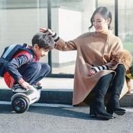 史低!手機遙控+20度爬坡:阿爾郎 兒童雙輪電動智能平衡車AERLANG-X3