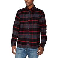 限L碼、100%純棉:HugoBoss/雨果博斯 男士商務格子襯衫