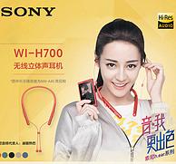 全国联保,Sony 索尼 WI-H700 颈挂式蓝牙耳机 2色