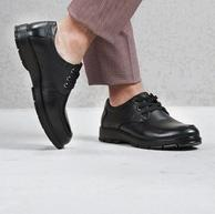 限今日!頭層牛皮:富貴鳥 男士商務休閑皮鞋