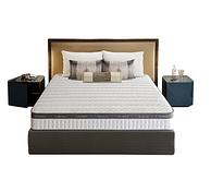 五星级酒店供应商 久睡不塌:喜临门 双子座 护脊椰棕垫弹簧床垫 180x200x21cm