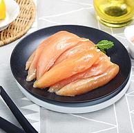 低脂高蛋白首选!出口日本级,上鲜 鸡小胸 1kgx5件