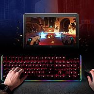 京东Plus,WCG指定外设:青轴 TAIDU/钛度 TKM600 幻彩师 有线机械键盘