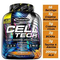 HPLC认证:998g 肌肉科技 CELL-TECH 橙味 肌酸肌肉蛋白粉