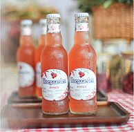 新低!Hoegaarden 福佳 玫瑰红啤酒 248mlx6瓶