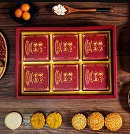 百年老字号,知味观 中秋月饼礼盒 410g